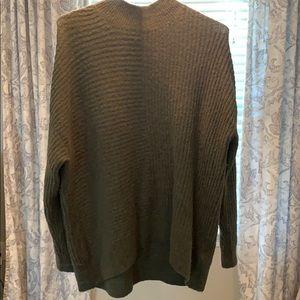 Oversized fuzzy sweater